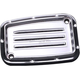 Chrome Dimpled Front Brake Master Cylinder Cover - C1176-C