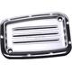 Chrome Dimpled Front Brake Master Cylinder Cover - C1176-C