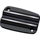 Black Finned Clutch Master Cylinder Cover - C1177-B