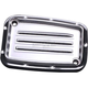 Chrome Dimpled Clutch Master Cylinder Cover  - C1178-C