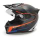 Black/Orange Krios Karbon Vanquish Adventure Helmet