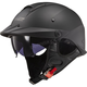 Matte Black Rebellion Helmet