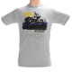 Gray Sunrise Adventure T-Shirt