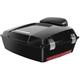 Vivid Black Chopped Tour Pack w/Backrest - HW229708