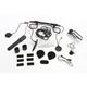 10U Bluetooth 4.1 Communicatoin System w/Remote Control for Arai Full-Face Helmets - 10U-AR-01