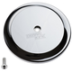 Chrome Smooth VT Air Cleaner Cover - 02-222-3