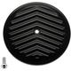 Black V-Fin VT Air Cleaner Cover - 02-224-1