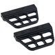 Black Serrated Passenger Floorboards - 08-645-1B
