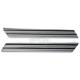 Chrome Finned Saddlebag Latch Inserts - 04-501-3