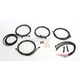 Midnight Black Complete Handlebar Cable and Brake Line Kit For Use w/12