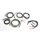 Midnight Black Complete Handlebar Cable and Brake Line Kit For Use w/15