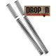 Drop-In Fork Spring Lowering Kit - 10-2007