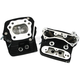 Black Wrinkle Standard Compression Cylinder Heads - 106-6064