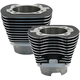 Wrinkle Black 4 1/8 in. Bore Cylinder Set w/o Pistons for 124