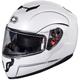 Pearl White Atom SV Modular Helmet