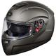 Matte Titanium Atom SV Modular Helmet
