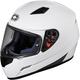 White Mugello Helmet