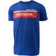 Blue Honda Wing Block T-Shirt