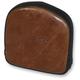 6-1/2 in. Brown Gravestone Sissy Bar Pad for Saddlemen Lariat Seats - 040841