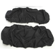 Black Seat Cover  - 0821-2656