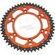 48 Tooth Orange Dual Rear Sprocket  - 1210-1516