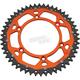 50  Tooth Orange Dual Rear Sprocket - 1210-1522