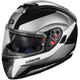 Black/White Atom SV Tarmac Modular Helmet