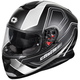 Black/Matte White Thunder 3 SV Trace Helmet