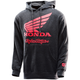 Heather Charcoal Honda Wing Pullover Hoody
