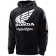 Black Honda Wing Pullover Hoody