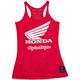 Women's Heather Red Honda Wing Tank Top