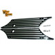 Black Saddlebag Face Plates - 42-0179