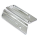 Chrome Saddlebag Face Plates - 42-1064