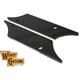 Black Winged Saddlebag Face Plates - 42-1117