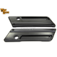 Black Saddlebag Face Plates - 42-1181