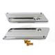 Chrome Saddlebag Face Plates - 49-0883