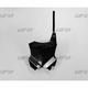 Black Front Number Plate - KA04738-001