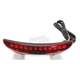 LED Chopped Fender Tail Light w/Red Lens - H5184-RD