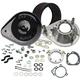 Gloss Black Teardrop Air Cleaner Kit - 170-0312B