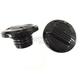 Black Air Flow Gas Caps - 38-0494