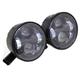Black 4 1/2 in. LED Headlight Set - 33-1102