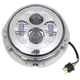 Chrome 7 in. LED Headlamp - 33-1104