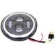 Black 7 in. LED Headlamp - 33-1044