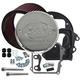 Air Cleaner Kit w/Chrome S&S Logo Cover - 170-0295B