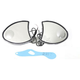 Chrome Fairing Mirror Set - 34-1222