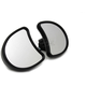 Black Fairing Mirror Set - 34-0056