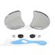 Chrome Fairing Mirror Set - 34-0405