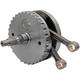4 3/8 in. Stroke Flywheel Assembly w/Sprocket Shaft Bearing Race for 96