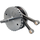 4 5/8 in. Stroke Flywheel Assembly w/o Sprocket Shaft Bearing Race For S&S 124