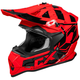 Red Mode MX Stance Helmet
